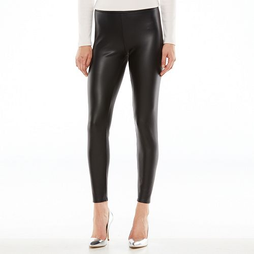 b9ea67e70f623f LC Lauren Conrad Faux-Leather Leggings - Women's