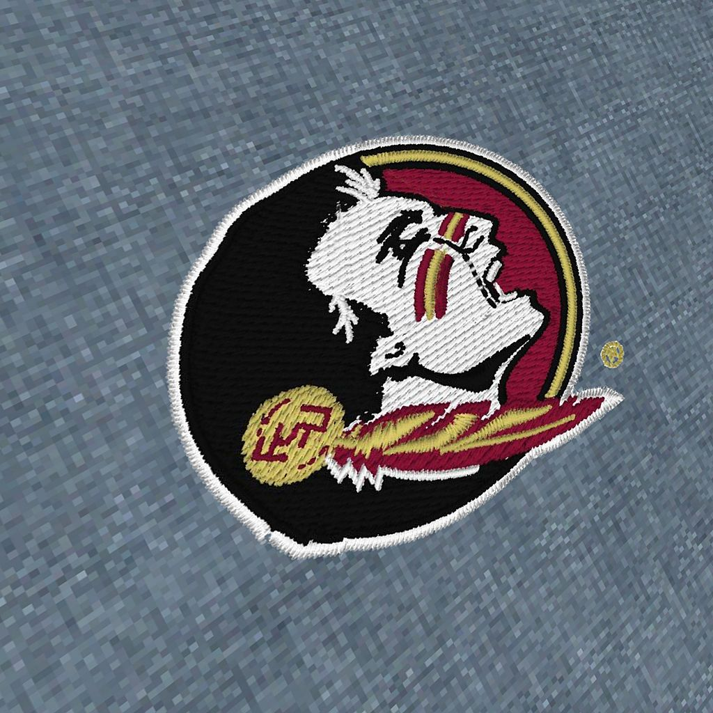 Men's Antigua Florida State Seminoles Chambray Button-Down Shirt