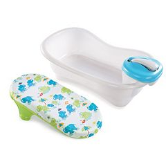 Summer Infant Deluxe Newborn-To-Toddler Bath & Shower Center