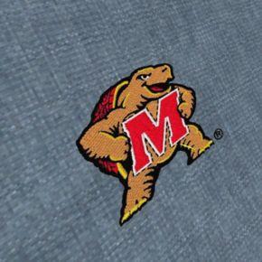 Men's Antigua Maryland Terrapins Chambray Button-Down Shirt