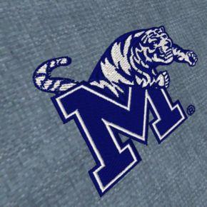 Men's Antigua Memphis Tigers Chambray Button-Down Shirt