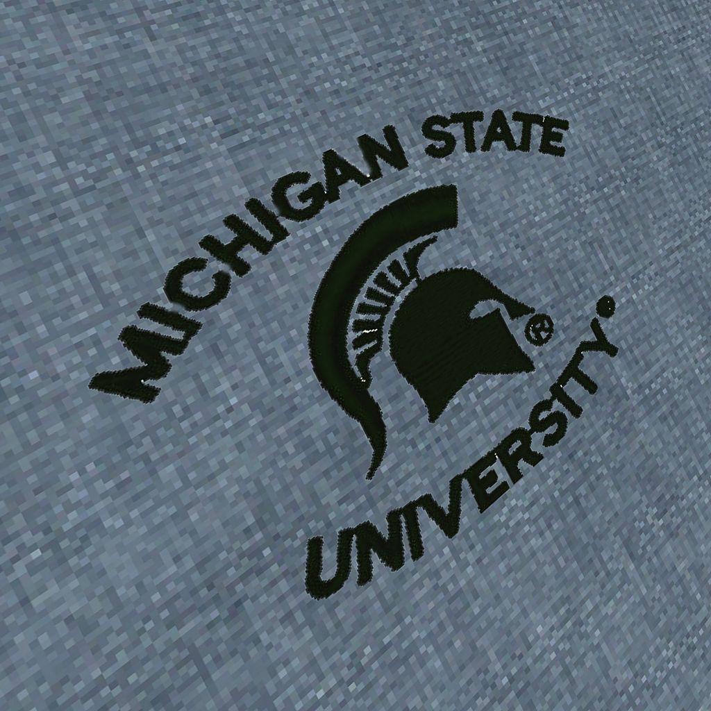Men's Antigua Michigan State Spartans Chambray Button-Down Shirt