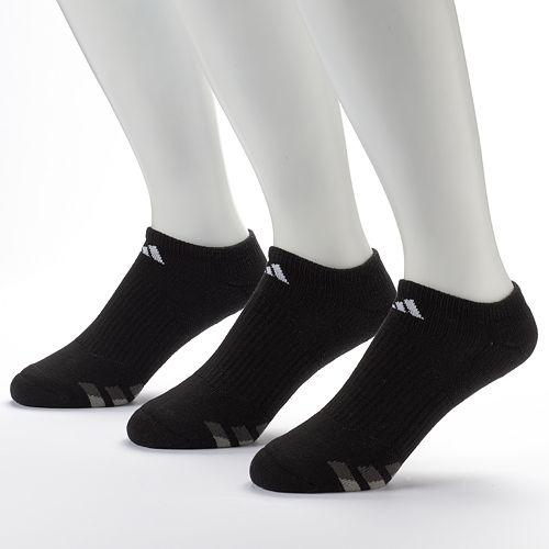 Men's adidas 3-Pack Climalite No-Show Performance Socks