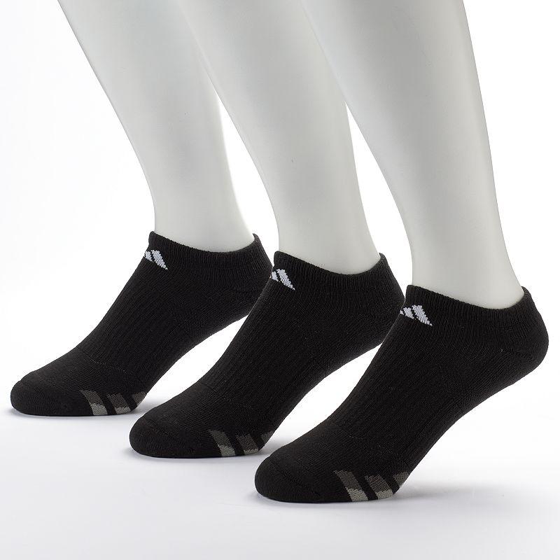 adidas 3-Pack Climalite No-Show Performance Socks - Men