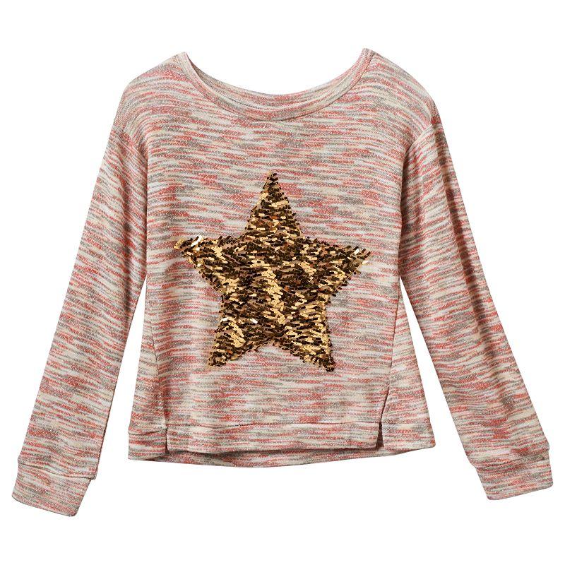 Miss Chievous Striped Pullover Sweatshirt - Girls 7-16