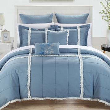Legend 7-pc. Blue Comforter Set