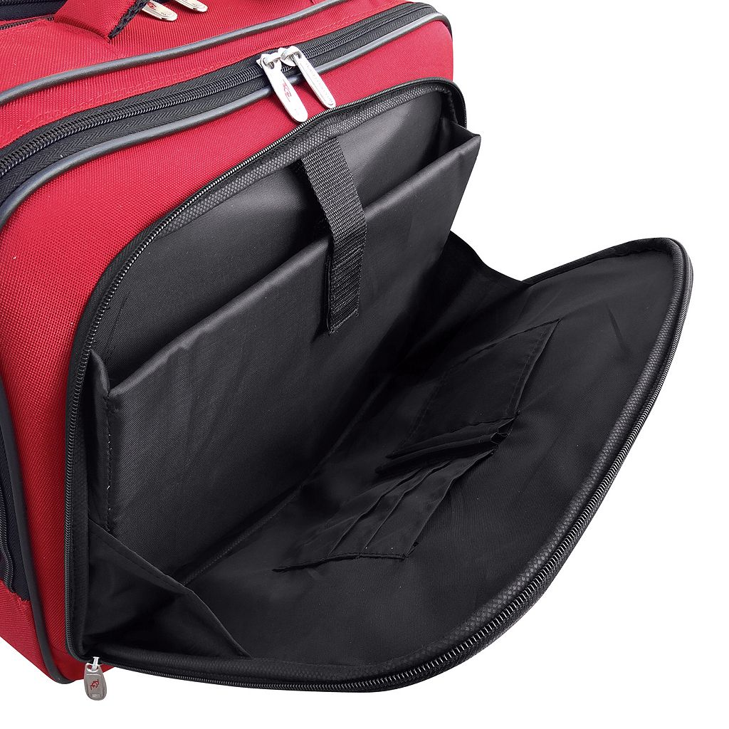Travelers Club 15-Inch Laptop Wheeled Briefcase
