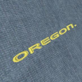 Men's Antigua Oregon Ducks Chambray Button-Down Shirt