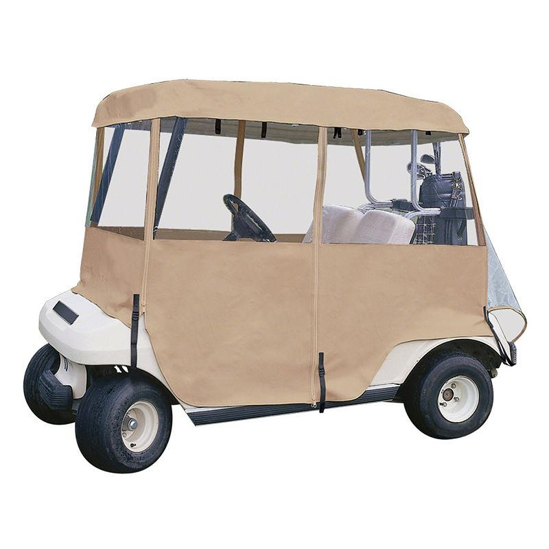 Classic Accessories Deluxe 4-Sided Golf Car Enclosure, Four-Person 72472