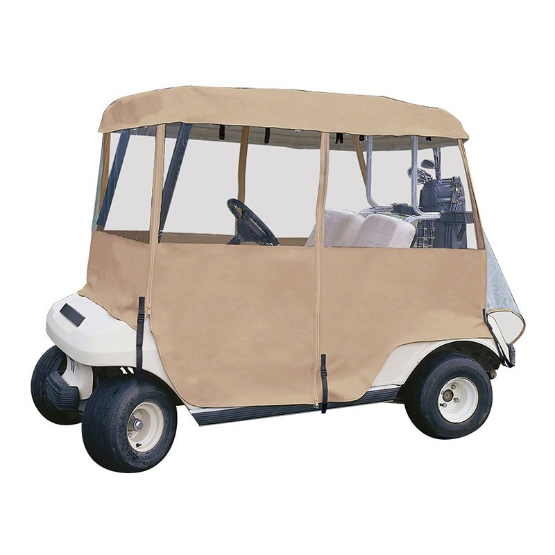 Classic Accessories Fairway Deluxe 4 - Sided Golf Car Enclosure