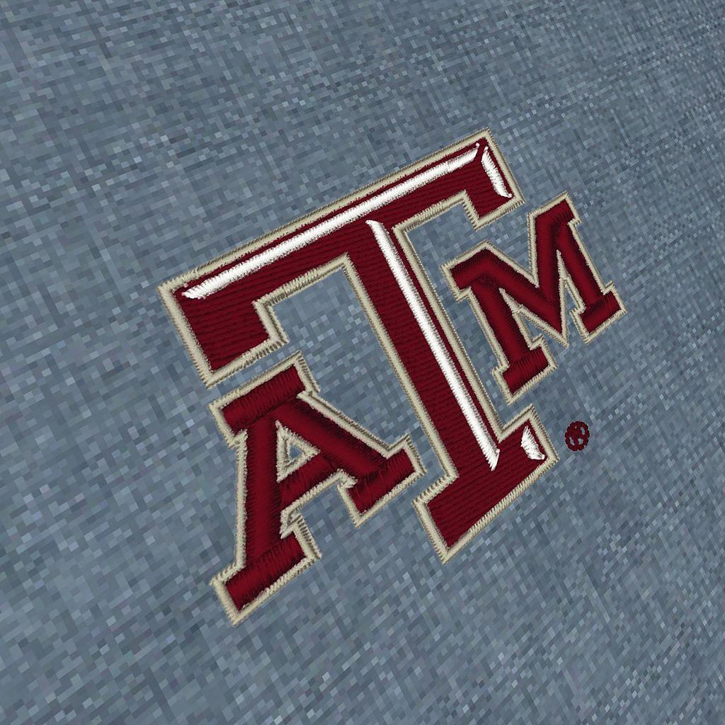 Men's Antigua Texas A&M Aggies Chambray Button-Down Shirt