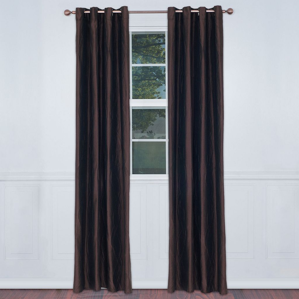 Portsmouth Home 2-pack Wavy Curtain