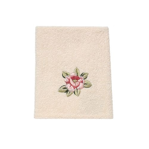 Avanti Rosefan Washcloth