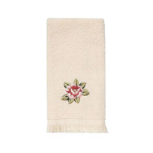 Avanti Rosefan Fingertip Towel