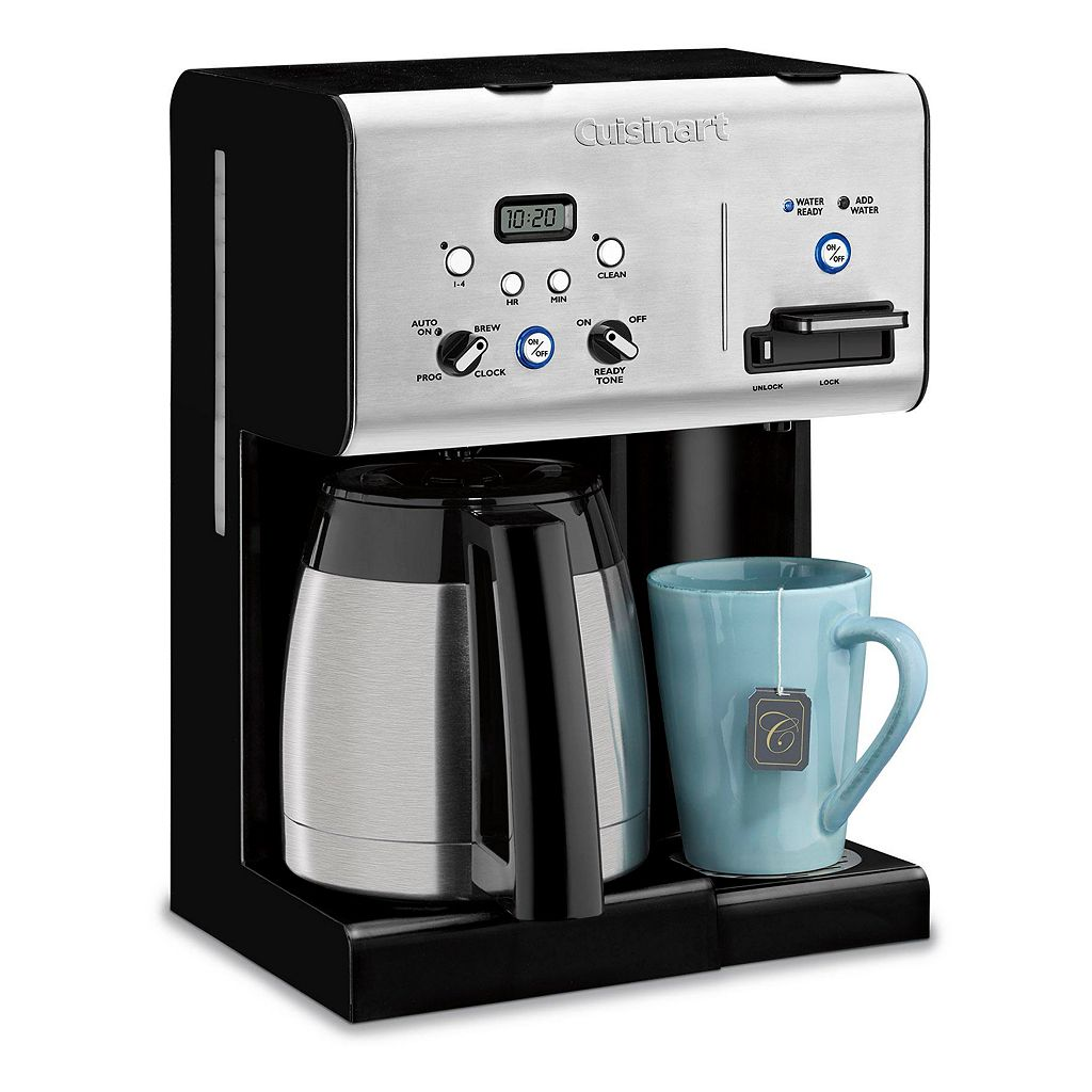 Cuisinart 10-Cup Programmable Coffee Maker with Hot Water System