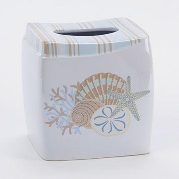 Avanti By the Sea Tissue Box Cover
