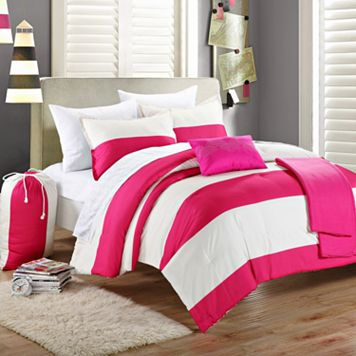 Ruby Reversible Comforter Set