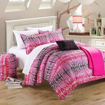 Techno Reversible Comforter Set