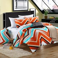 Ziggy Zag Reversible Comforter Set