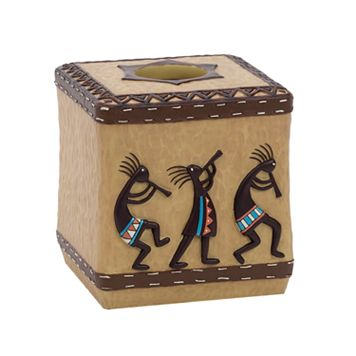 Avanti Kokopelli Tissue Box Cover