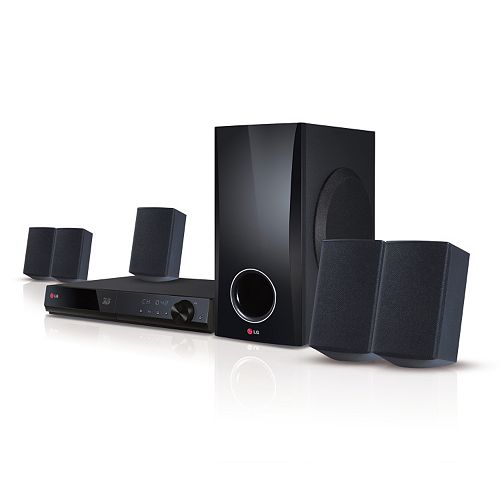 LG Smart 5.1-Channel Home Theater System & 3D Blu-ray Player