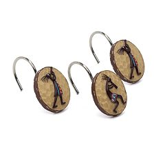 Avanti Kokopelli 12-pk. Shower Curtain Hooks