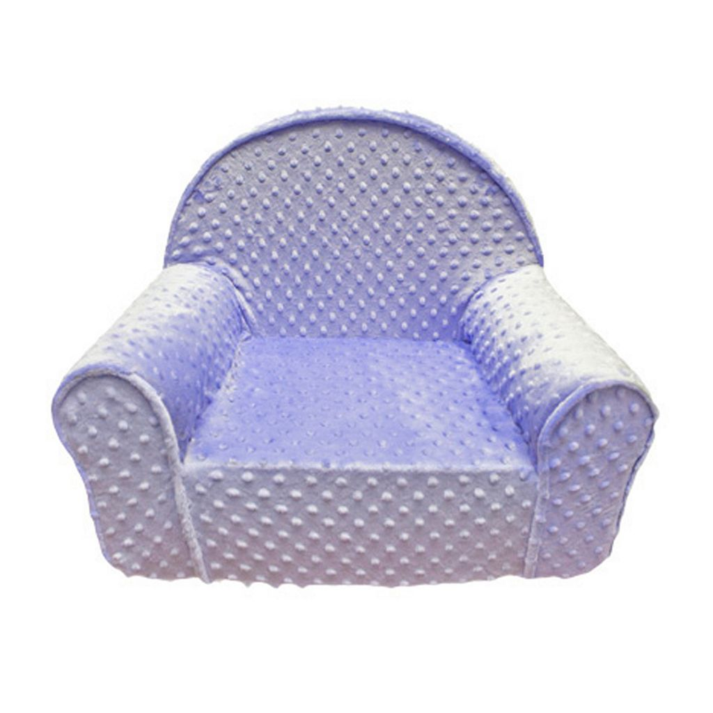 Fun Furnishings Minky Dots My First Chair - Toddler