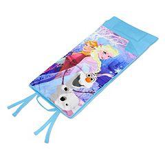 Disney's Frozen Anna, Elsa & Olaf Memory Foam Travel Sleeping Bag