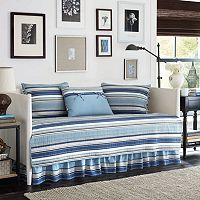Stone Cottage Fresno Blue 5 pc Daybed Quilt Set