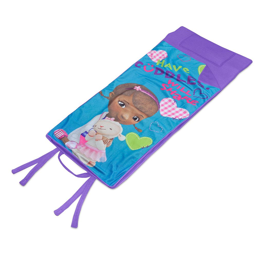 Disney's Doc McStuffins Memory Foam Travel Sleeping Bag