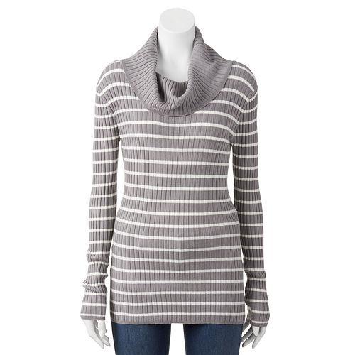 Women's Apt. 9® Ribbed Cowlneck Sweater