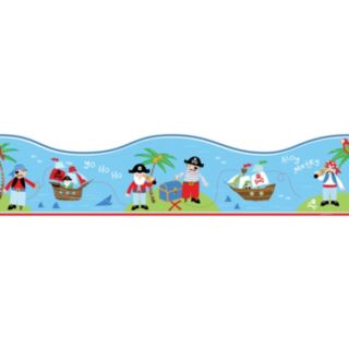 Pirates Peel and Stick Wall Decal Border