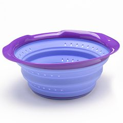 Squish 6-qt. Collapsible Colander