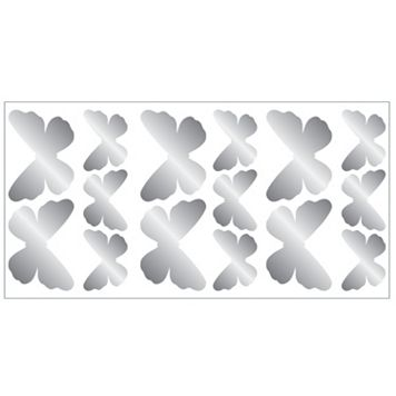 Butterfly Foil Peel & Stick Wall Decals