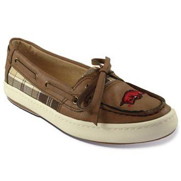 Women's Campus Cruzerz Westwind Arkansas Razorbacks Boat Shoes