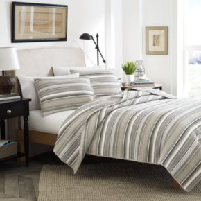 Stone Cottage Fresno Striped Quilt Set