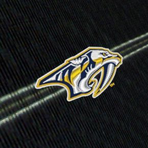 Men's Nashville Predators Deluxe Striped Desert Dry Xtra-Lite Performance Polo