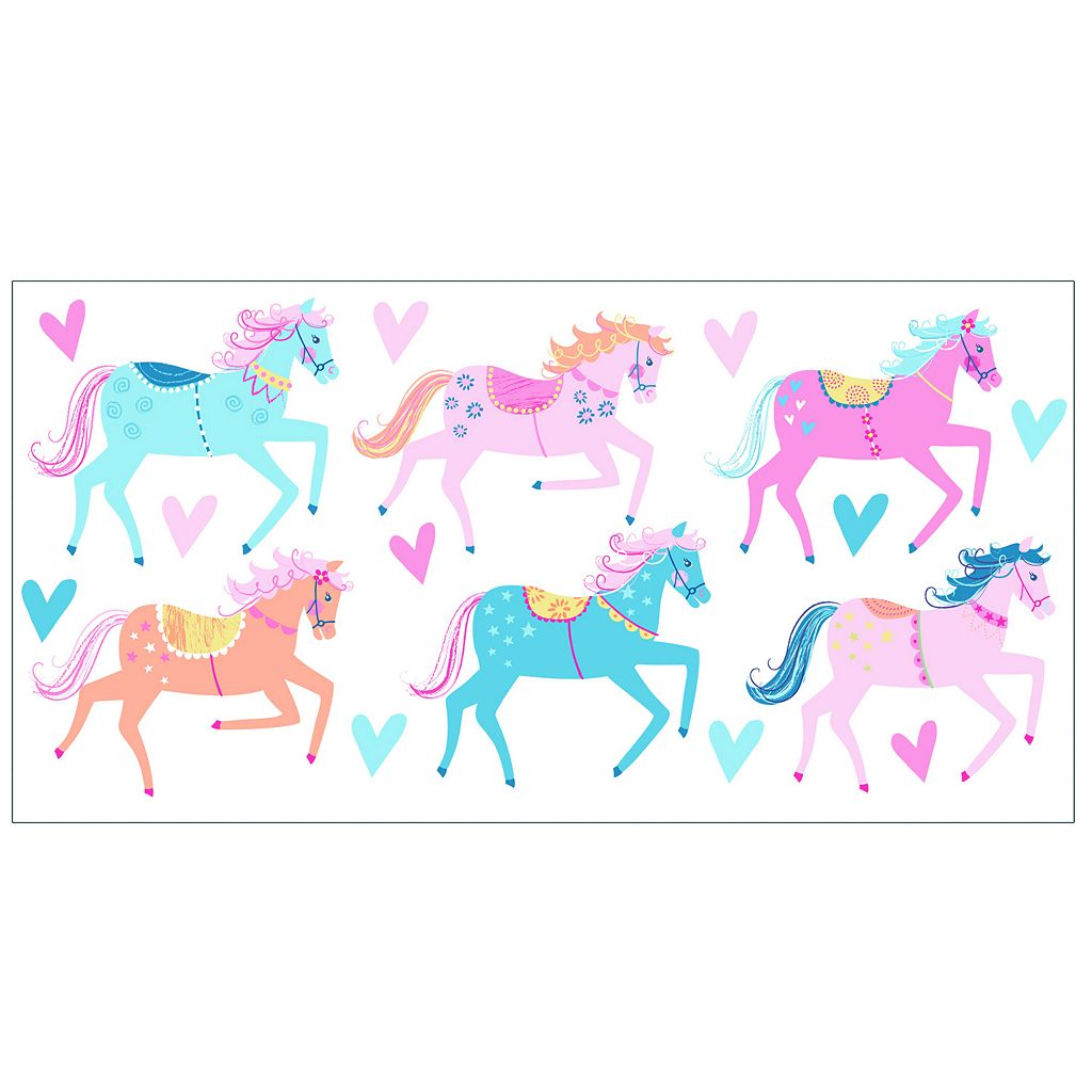 Carousel Peel & Stick Wall Decals