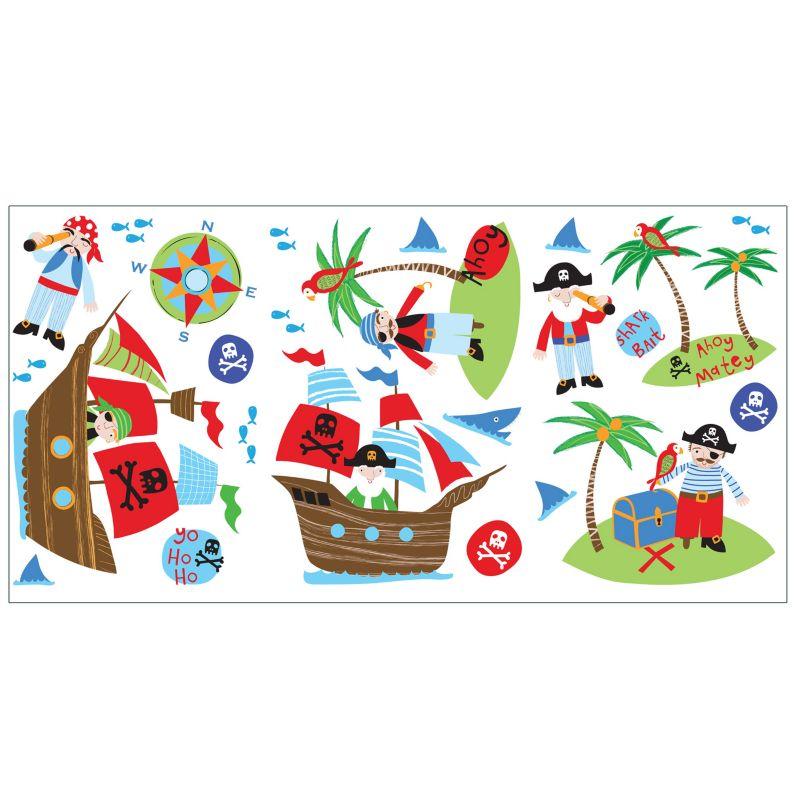 Fine Decor Pirates Stickers 98355602