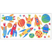 Blast Off Peel & Stick Wall Decals
