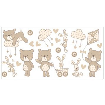Bear and Boo Peel & Stick Wall Decals