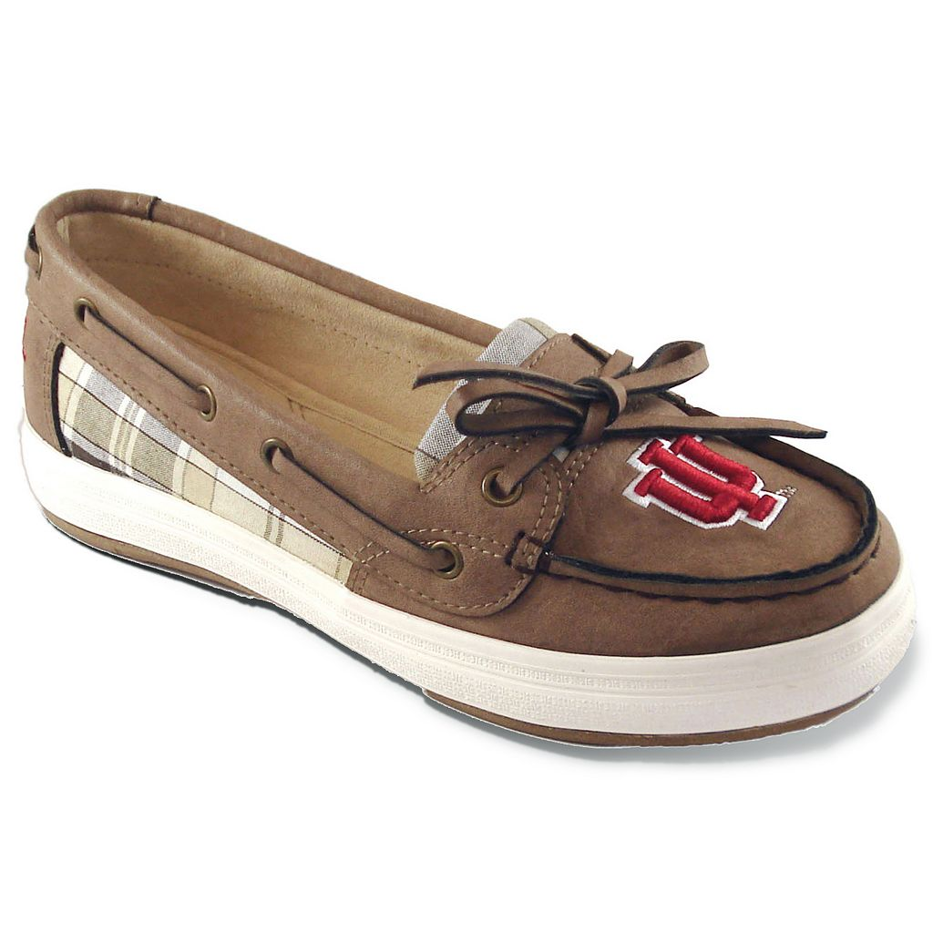 Women's Campus Cruzerz Westwind Indiana Hoosiers Boat Shoes