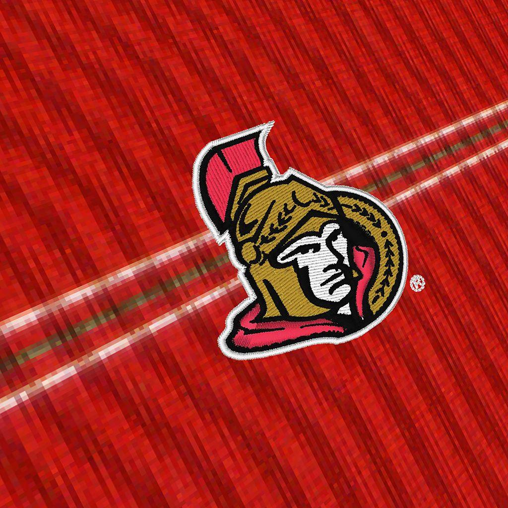 Men's Ottawa Senators Deluxe Striped Desert Dry Xtra-Lite Performance Polo