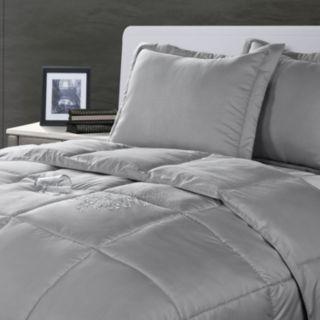 Stayclean Solid 3-pc. Comforter Set - Full/Queen