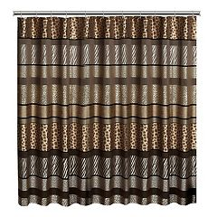 Gazelle Fabric Shower Curtain