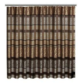 Gazelle Fabric Shower Curtain