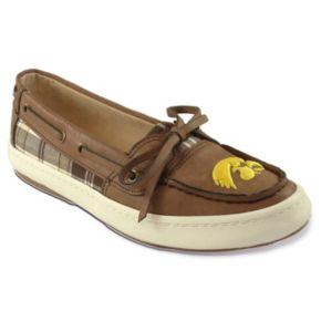 Women's Campus Cruzerz Westwind Iowa Hawkeyes Boat Shoes