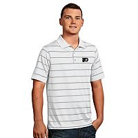 Men's Philadelphia Flyers Deluxe Striped Desert Dry Xtra-Lite Performance Polo