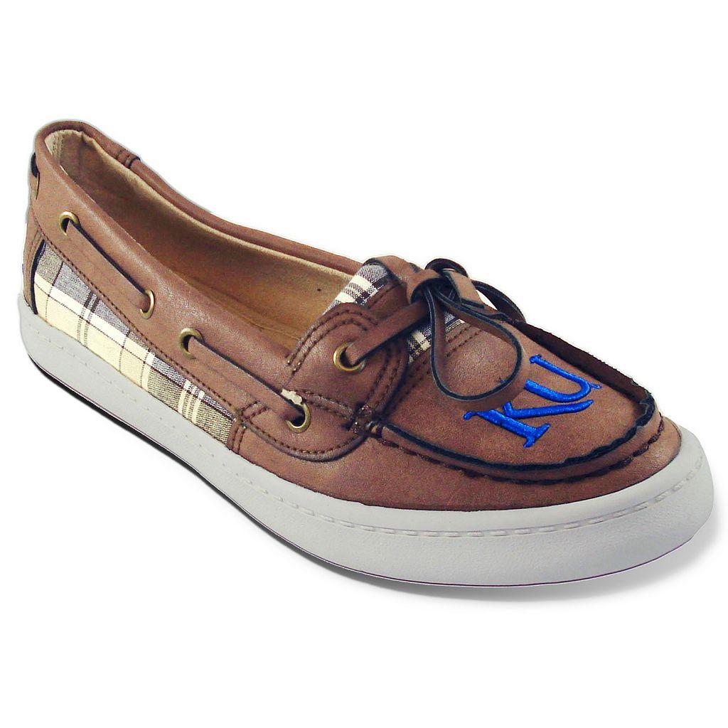 Women's Campus Cruzerz Westwind Kansas Jayhawks Boat Shoes