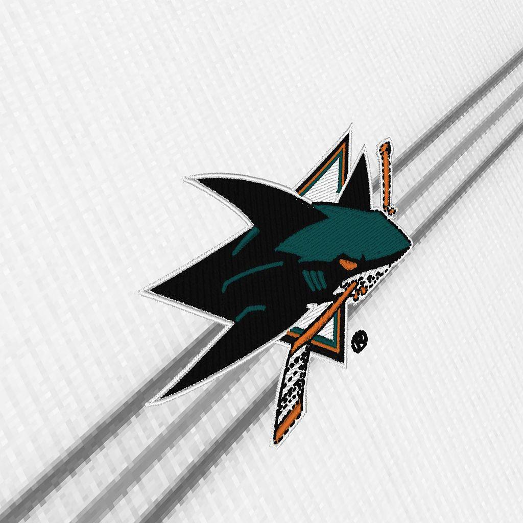 Men's San Jose Sharks Deluxe Striped Desert Dry Xtra-Lite Performance Polo